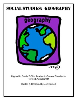 Geography & Cultures:  A Unit for Ohio Second Grade Academic Content Standards