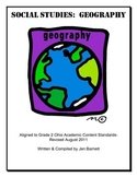 Geography & Cultures:  A Unit for Ohio Second Grade Academ