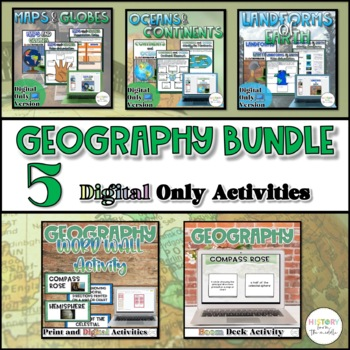 Intro to Geograhy Bundle {Digital}