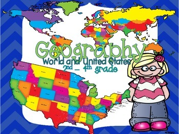 Geography Daily Journal and Map Skills