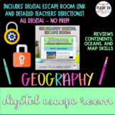 Geography Digital Escape Room - An Amazing Race Around the World