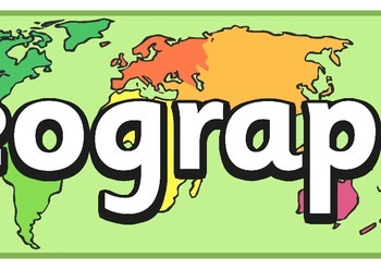Geography Display Banner