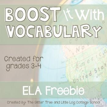 Geography ELA Anchor Chart Freebie