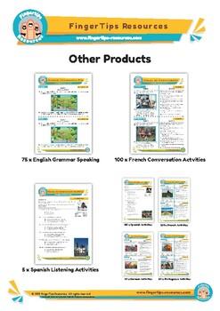 Geography - ESL Speaking Activity