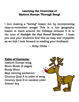 Geography: Eastern Europe Song (The Balkan Peninsula)