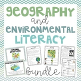 Geography & Environmental Literacy - 2.G.1 & 2.G.2 Bundle