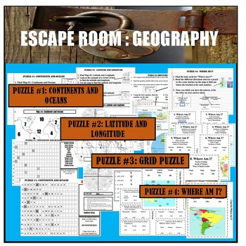 Geography Escape Room