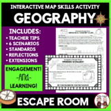 Geography Escape Room Activity