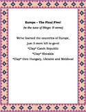 Geography: European Countries (The Final Five)