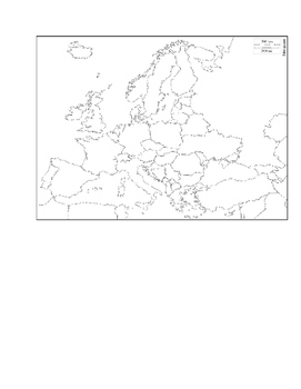 Geography - European Map Test
