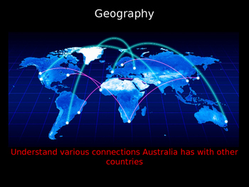 Geography Exploring Australia's Connections (Lesson 2)