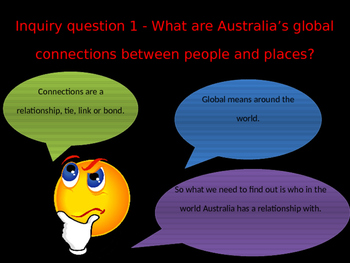 Geography Exploring Australia's Connections with other countries power point