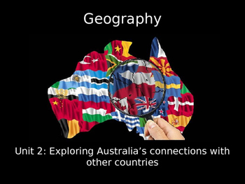 Geography Exploring Australia's Connections with other cou