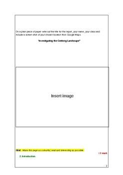 Geography Fieldwork Report