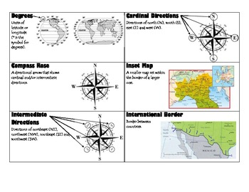 Geography Flash Cards