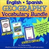Geography Vocabulary Bundle