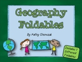 Geography Foldables -- Print & Go!