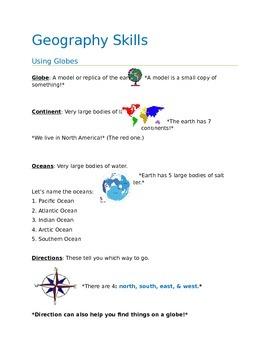 Geography Fun