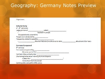 Geography: Germany's History