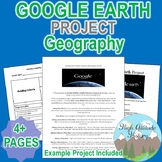 Google Earth Project (Instructions, Rubric, Example Project, Hints)