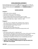 GRADE 7 GEOGRAPHY ONTARIO, NATURAL RESOURCES, SUSTAINABILITY, ONTARIO CURRICULUM