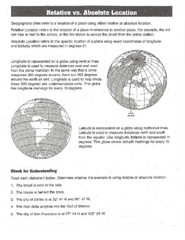 Geography - Grades 4-6