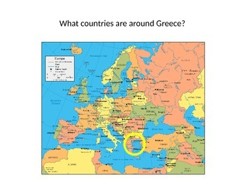 Geography Greece Mapping Activity