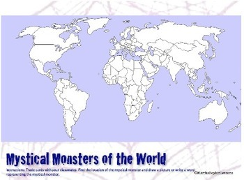 Monster Mash:A Study of Mystical Monsters of The World (Geography Halloween)