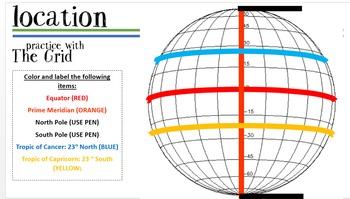 Geography Handbook: Interactive Notebook & Powerpoint