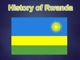 History of Rwanda PowerPoint Presentation (World History / Geography)