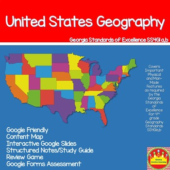 Geography:  Important Physical and Man-Made Features, SS4G1