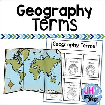 Geography Interactive Notebook Activity
