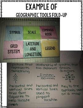 Geography Interactive Notebook Kit (U.S. History)