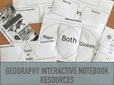 Geography Interactive Notebook Resources