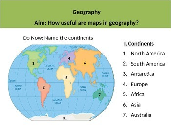 Geography Intro Lesson