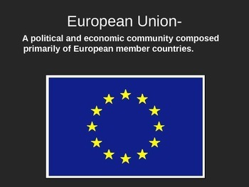 Geography - Intro to Europe powerpoint