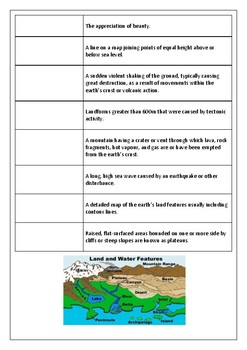 Geography Introduction Landscape and Landforms