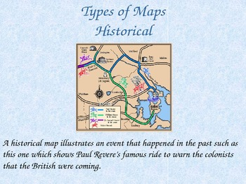 Geography- Introduction to Maps