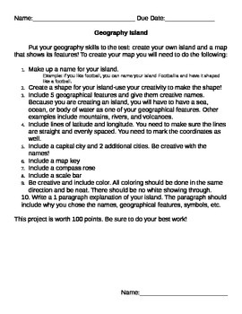 Geography Island Project