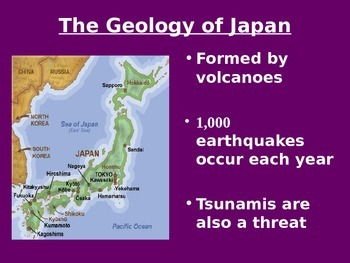 Geography - Japan basics powerpoint