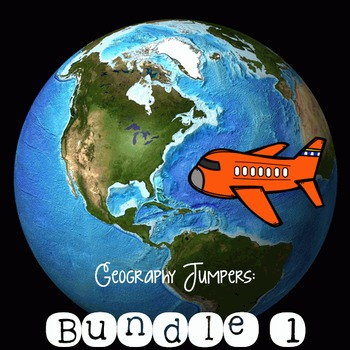 Geography Jumpers: Bundle 1 **Save$**