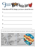 World Geography Jumpstarts Unit 3:  Latin America activities and mini-lessons
