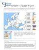 World Geography Jumpstarts Unit 4:  Europe & Australia activities & mini-lessons