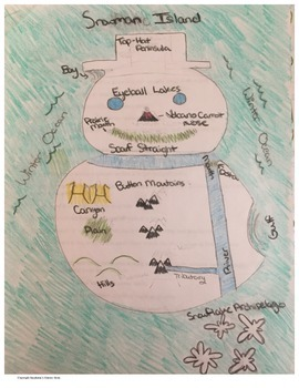 Geography Landforms Review Activity