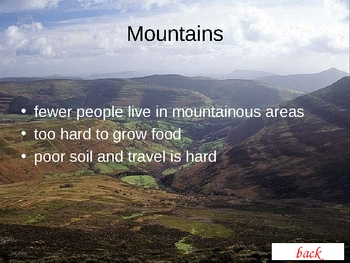 Geography Landforms introduction Powerpoint lesson