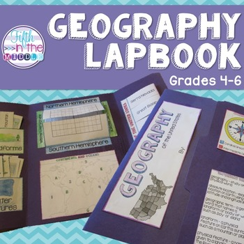 Geography Lapbook/Interactive Notebook