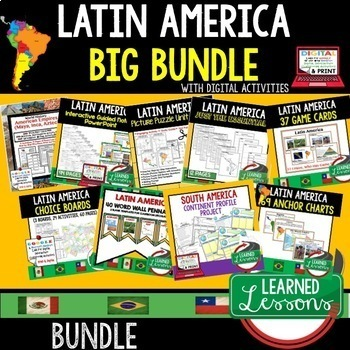 Geography Latin America BIG BUNDLE