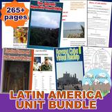 Latin America Unit Bundle (Geography)