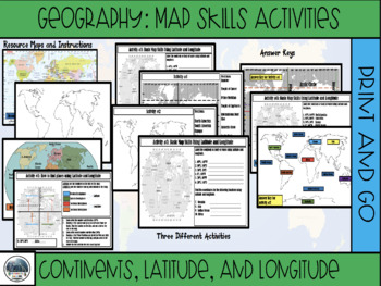 Geography: Latitude, Longitude, and Continents