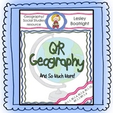 Geography:  Learning Continents and Oceans with QR Codes and More